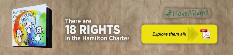 There are 18 rights in the Hamilton Charter, link to explore them all #IHaveARight